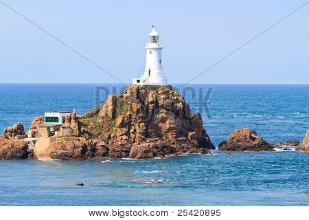 Corbiere Lighthouse, Jersey, The Channel Islands