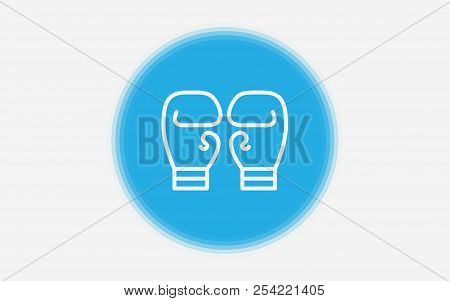 boxing gloves icon vector photo free trial bigstock