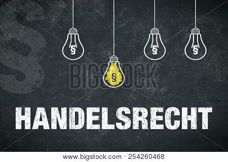 """Banner """"handelsrecht"""