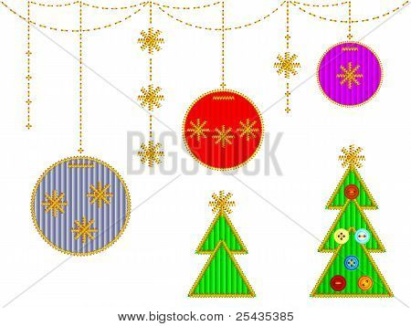 cristmas embroideries