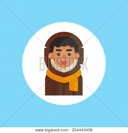 Eskimo. Human Race Single Icon In Cartoon Style Vector Symbol Stock Illustration .