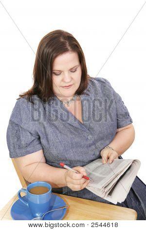 Businesswoman - Job Search