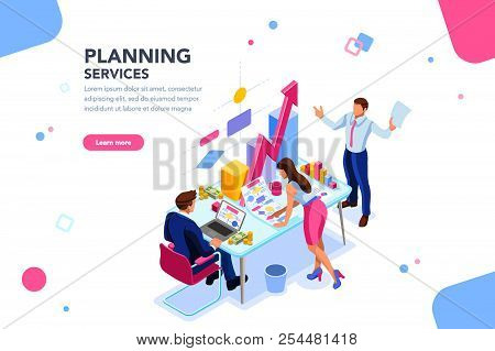 Analyst, Financial Banner. Planner, Corporate Earning Calculate, Data Discussion. Consultant Concept