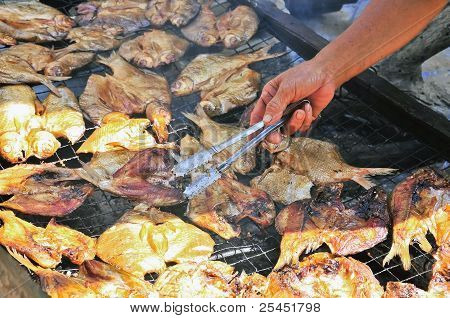 Smoked fish For Food Preservation