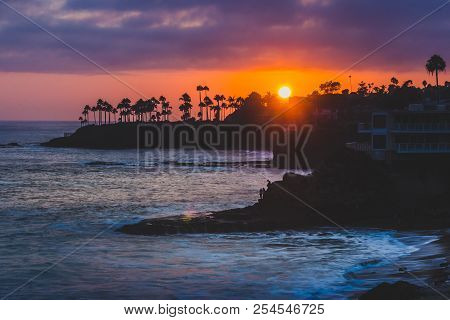 Colorful Laguna Beach Sunset