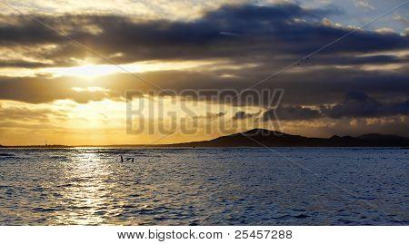 Sunset on Isabela, Galapagos