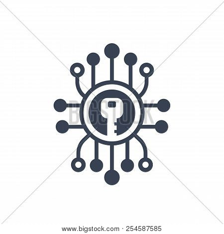 Encryption, Cryptography Icon, Eps 10 File, Easy To Edit