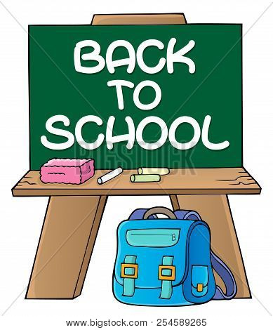 Schoolboard Topic Image 2 - Eps10 Vector Picture Illustration.