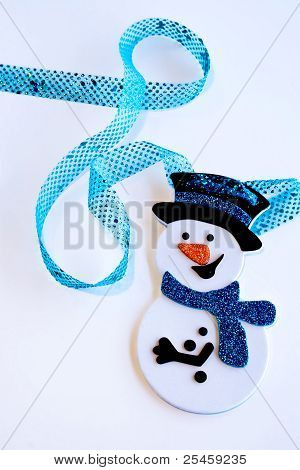 Snowman with Ribbon