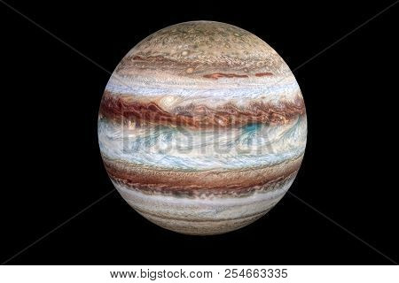 3d Rendering Of Jupiter Planet, Jupiter Is The Fifth Planet From The Sun And The Largest In The Sola