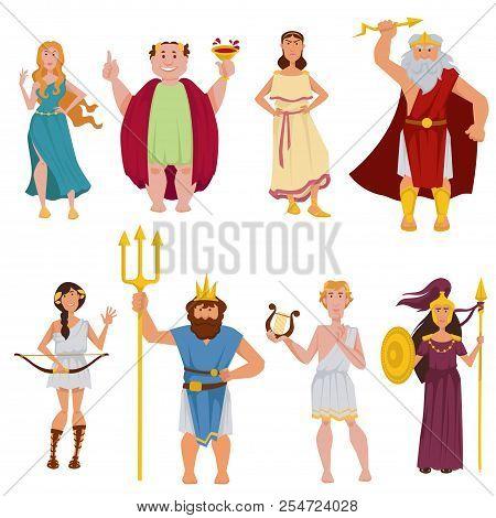 greek gods goddesses vector photo free trial bigstock