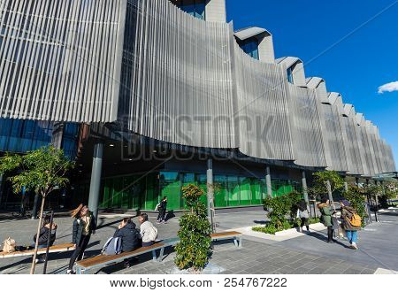 Melbourne, Australia - August 5, 2018: The Learning And Teaching Building Of The Monash University C