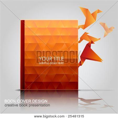 Book Cover, Creative Book Presentation.