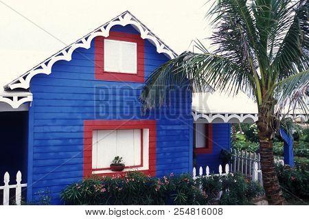 Mexico Yucatan Cancun Isla Mujeres Town