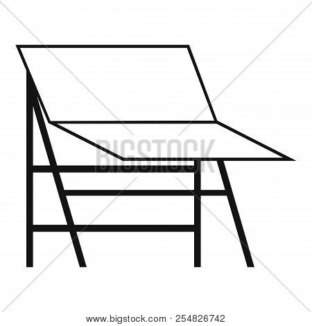 Blank Portable Screen Icon. Simple Illustration Of Blank Portable Screen Icon For Web