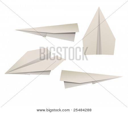 Set of paper planes