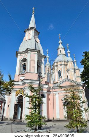 St. Andrew's Cathedral In St. Petersburg.