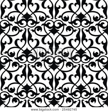 Seamless arabesque background