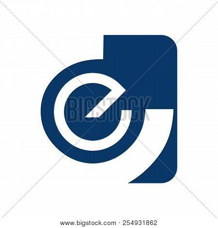 Abstract Letter E Logo Design Template Elements. Abstract Letter E. Business Corporate Letter E Logo