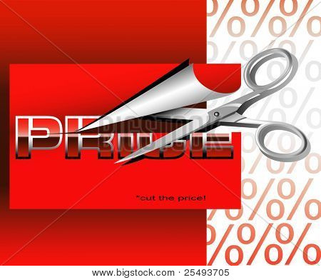 Vector sales poster