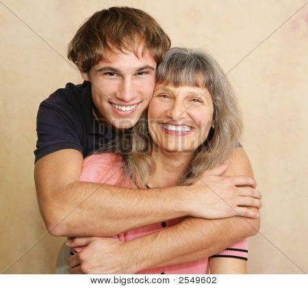 Mother & Adult Son Portrait