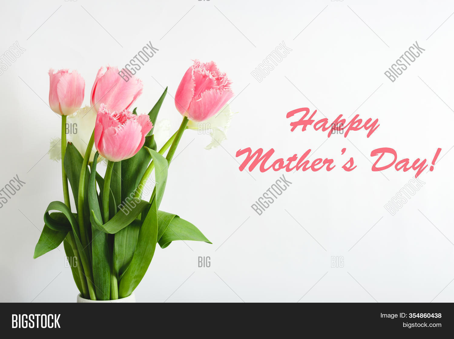 Happy Mothers Day Text Image Photo Free Trial Bigstock