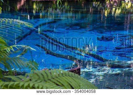 Blue Pool In Krabi Province South Of Thailand (emerald Pool-krabi)