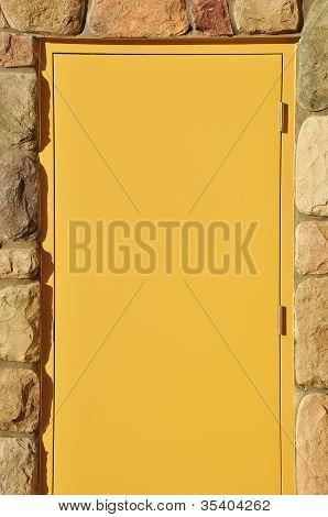 Empty door