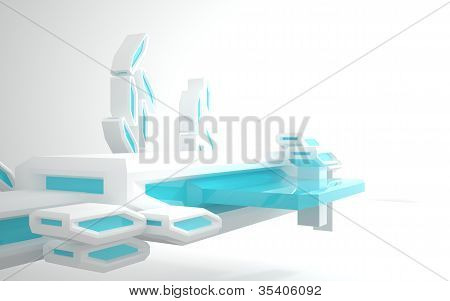 Abstract Architecture (underwater or outer building)