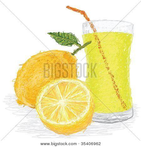 Lemon Fruit Juice
