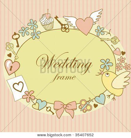 Wedding-frame