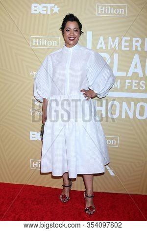 LOS ANGELES - FEB 23:  Roxanne Taylor at the American Black Film Festival Honors Awards at the Beverly Hilton Hotel on February 23, 2020 in Beverly Hills, CA