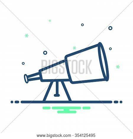 Mix Icon For Discover Discovery Telescope Idea