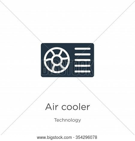 Air Cooler Icon Vector. Trendy Flat Air Cooler Icon From Technology Collection Isolated On White Bac