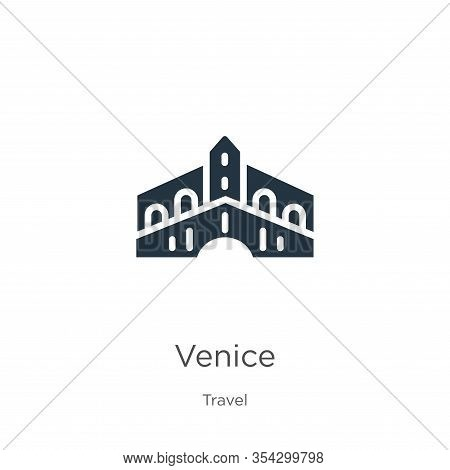 Venice Icon Vector. Trendy Flat Venice Icon From Travel Collection Isolated On White Background. Vec