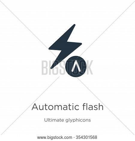 Automatic Flash Icon Vector. Trendy Flat Automatic Flash Icon From Ultimate Glyphicons Collection Is