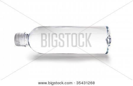 Clear, Plastic Water Bottle
