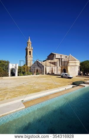 Estepa, Spain - November 13, 2008 - View Of The Santa Maria Parish Church (iglesia Parroquial De San