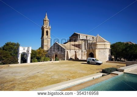 Estepa, Spain - November 13, 2008 - View Of Santa Maria Parish Church (iglesia Parroquial De Santa M