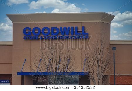 Dunwoody, Georgia- December 20, 2011: Goodwill Is An American Nonprofit That Provides Job Training,