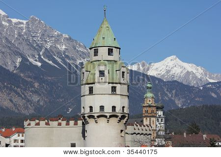 Old Mint Tower, Hall in Tirol, Austria