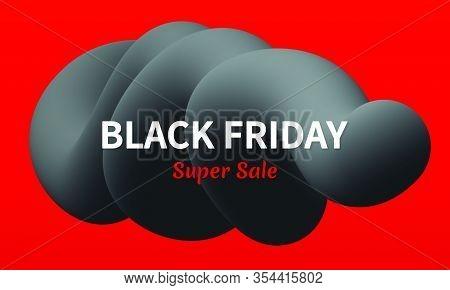 Modern Black Friday Abstract Banner Vector Design.