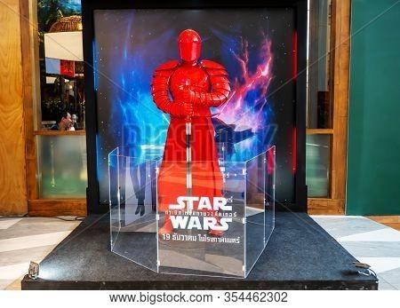 Bangkok,thailand - Dec 14, 2019:advertising Decoration For The Movie Called Star Wars: Episode Ix -