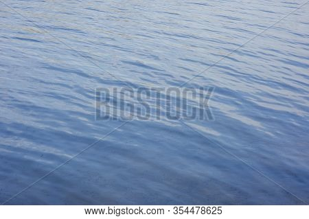 Water, Lake, Wave, Background. River Water Texture. Glare And Reflective Surface Water In River. Wat