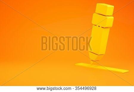 Yellow Pencil Eraser Image Photo Free Trial Bigstock
