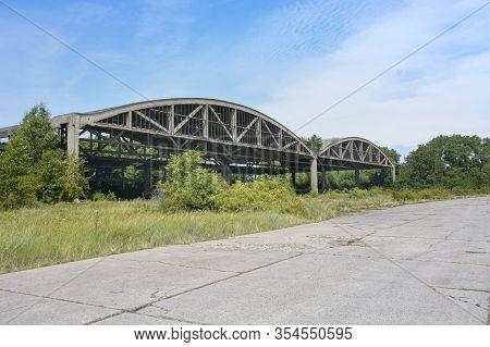 Anti-submarine Aircraft Squadron Hangars, Neutif Airfield-former German, Soviet And Russian Hydro-av