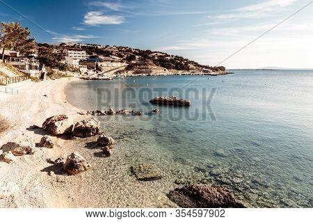 Summer Day Near Stara Baska Village In Krk Island