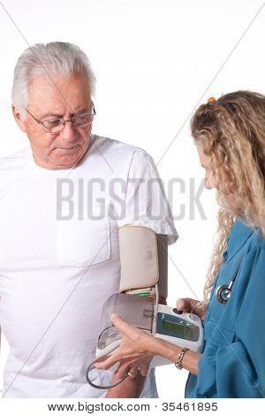 Blood Pressure Test In Hospital