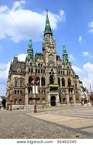 City Hall in Liberec