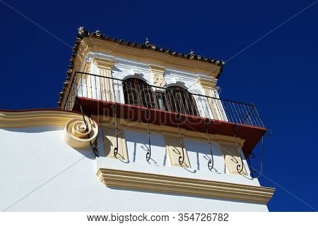 View Of The Marques Gomera Palace (palacio Del Marques De La Gomera), Osuna, Seville Province, Andal